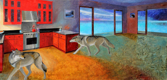 Red Kitchen Wolves (Qty. 6)