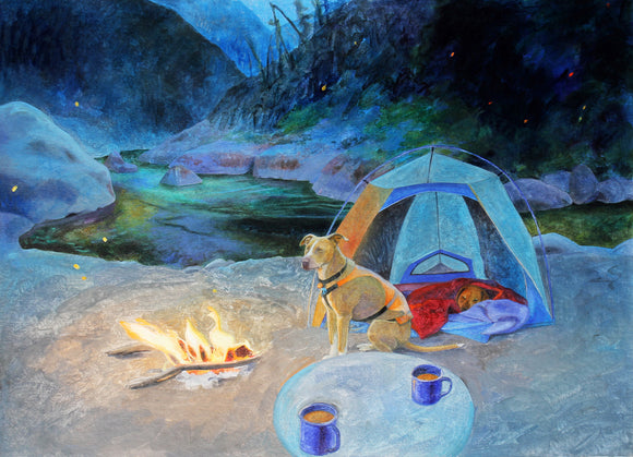 Night in Camp (Qty. 6)