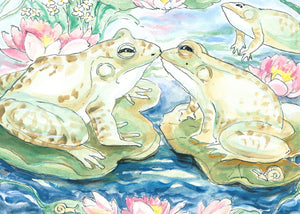 Frogs Kissing (Qty. 6)