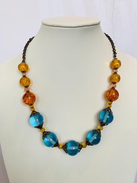 Javanese Resin Carnival Necklace (Qty. 1)