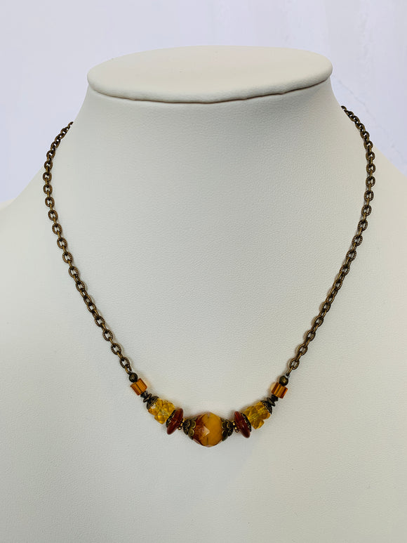 Amber Bits of Bliss Necklace (Qty. 1)