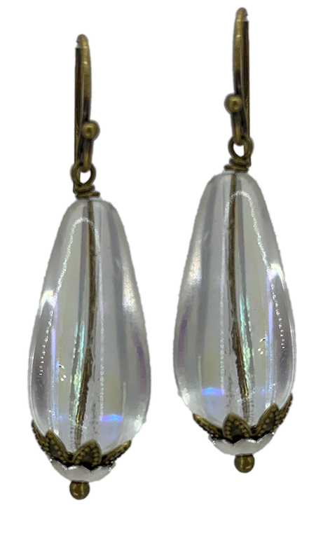 Clear Teardrop Bits of Bliss (Qty. 1 Pair)