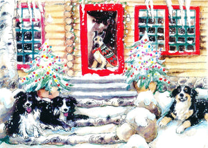 Jack and Digit at the Christmas Cabin (Qty. 6)