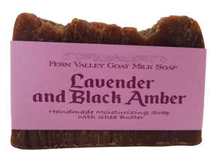 Lavender and Black Amber (Qty. 1)