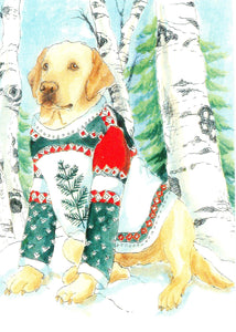 Yellow Lab in My Sweater (Qty. 6)
