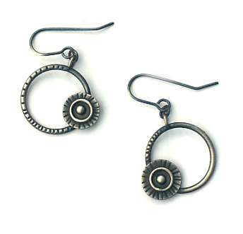 Assorted Orbital Hoop Earrings (Qty. 1 Pair)
