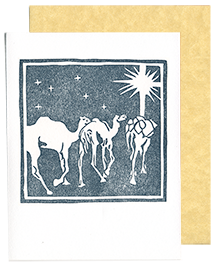 Camels and Star Card (Qty. 6)