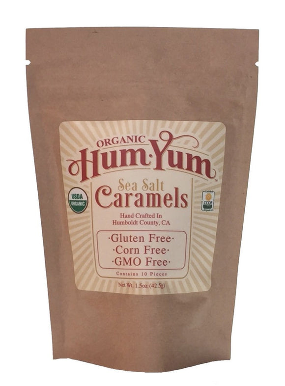 Organic Sea Salt Caramels (Qty. 6)