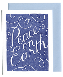Peace on Earth Card (Qty. 6)