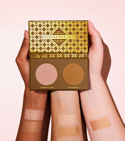 Caramel Melange Highlight Face Palette