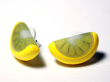 Citrus Slice Earrings