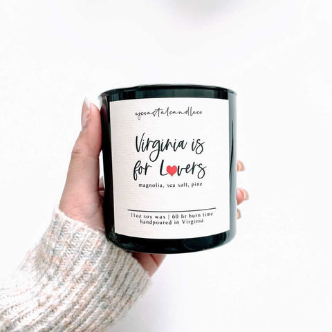 EJ Coastal Virginia is For Lovers Soy Candle