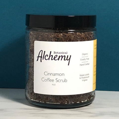 Botanical Alchemy Cinnamon Coffee Scrub