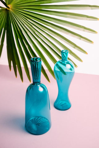Aqua Afternoon Vase