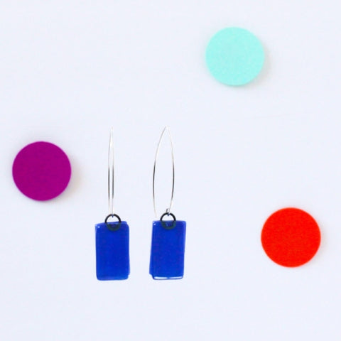 CPD Rectangle Earrings