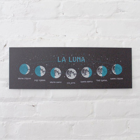 Glow in the Dark La Luna Print