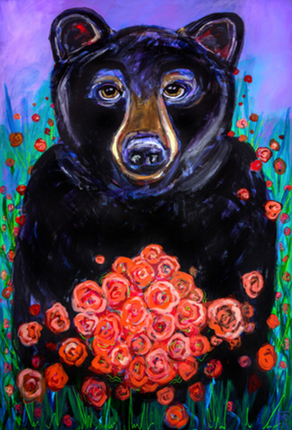 "Heather Donis Mama Bear 8.5x12.5"" Print"