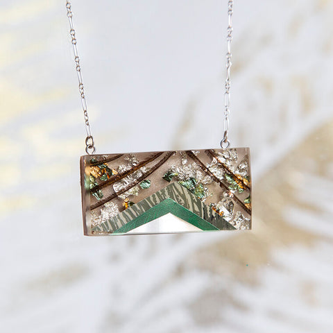 Hawthorne75 Stacked Necklace Rectangle