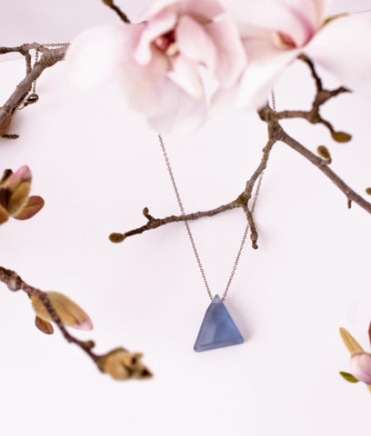 Lapis Faceted Necklace