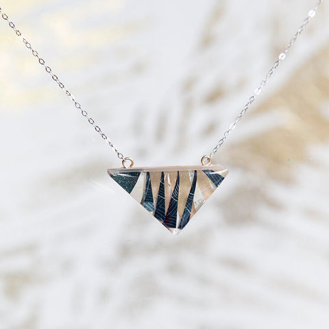 Hawthorne75 Stacked Necklace, Triangle