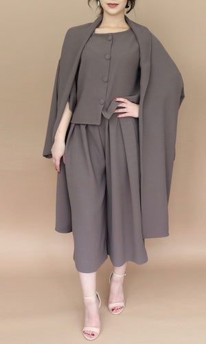 Taupe Oversized Coat