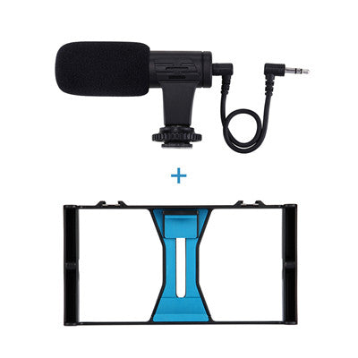 Handheld Vlogging Video Rig Case Stabilizer for Smartphones