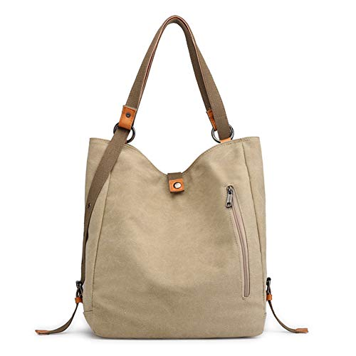 BMAXX 3 ways Women's Canvas Purses And Handbags Backpack Totes