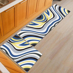 MAT 3000™️ - 2 PIECE SET - DECORATIVE MULTI-PURPOSE RUGS (KITCHEN, BATHROOM, ENTRYWAY, ROOM AND MORE)