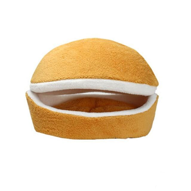 Hamburger Pet Cat Bed