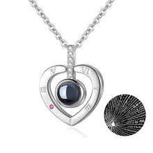Load image into Gallery viewer, 100 Ways to say I Love You (Necklace)