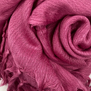 Rusty Purple Viscose