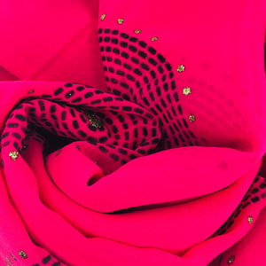Embroided in Pink - Sotra Fashion