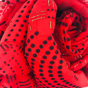 Red Polkadots - Sotra Fashion