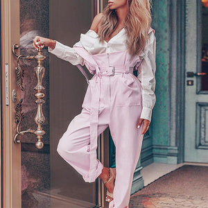 Show-Stopper Overalls - Sotra Fashion