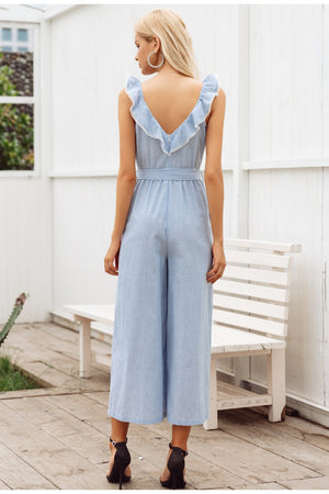 Fun in the Sun Jumpsuit - Sotra Fashion