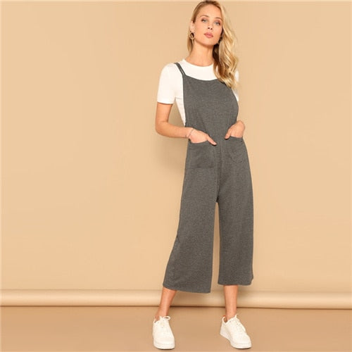 Casual Overall Jumpsuits - Sotra Fashion