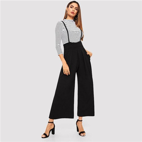 Overall I Love It Pants - Sotra Fashion