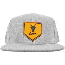 Load image into Gallery viewer, Home of Goat SnapBack (Heather Gray)