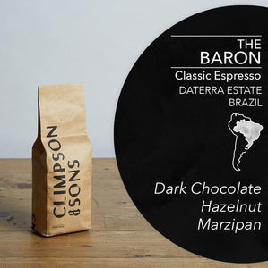 Climpson & Sons The Baron Coffee Beans - 250g*