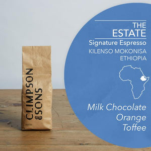 Climpson & Sons The Estate Coffee Beans - 250g*