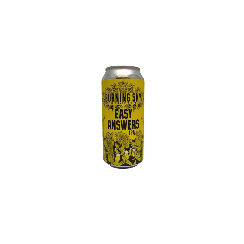 Burning Sky - Easy Answers - 440ml - 6%