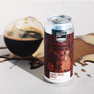 Pressure Drop - Cast Iron Billy - Imperial Brown Stout - 440ml - 10.5%