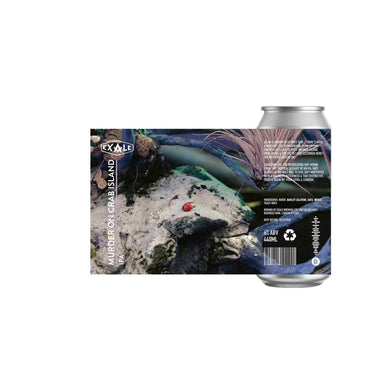 Exale - Murder On Crab Island - 440ml - 6% - 8 Pack
