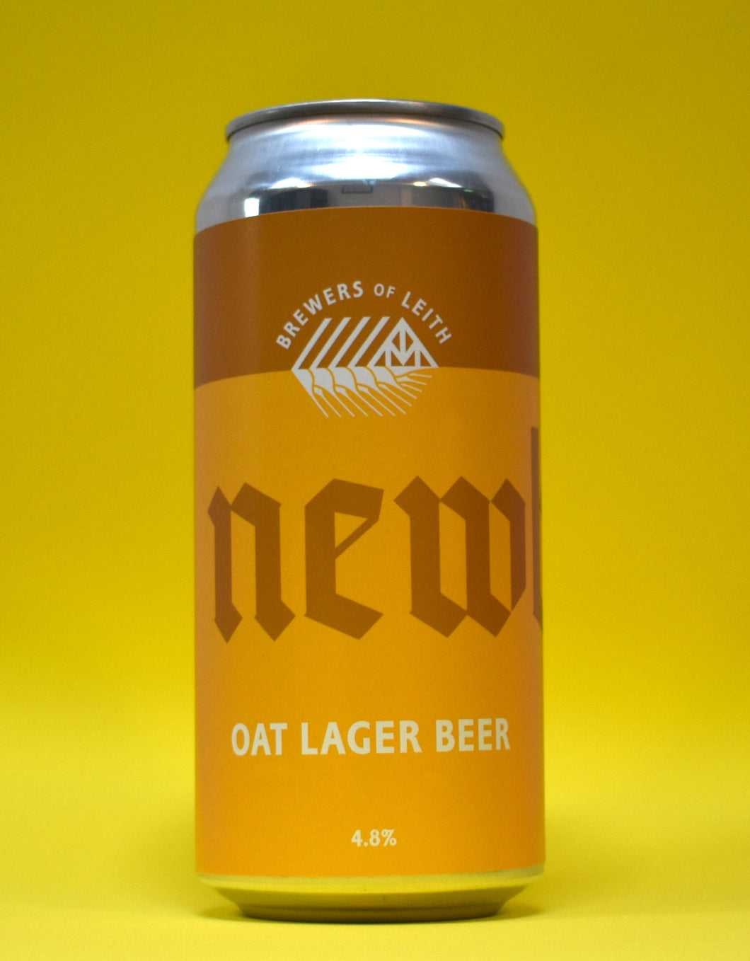 Newbarns - Oat Lager Beer - 440ml - 4.8%