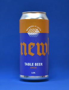 Newbarns - Table Beer (Simcoe) - 440ml - 3%
