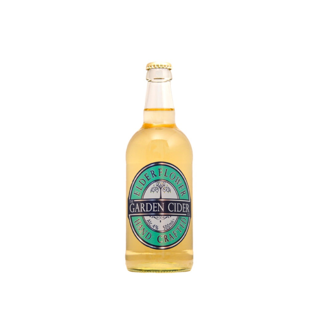 Garden Cider - Elderflower - 500ml - 4%