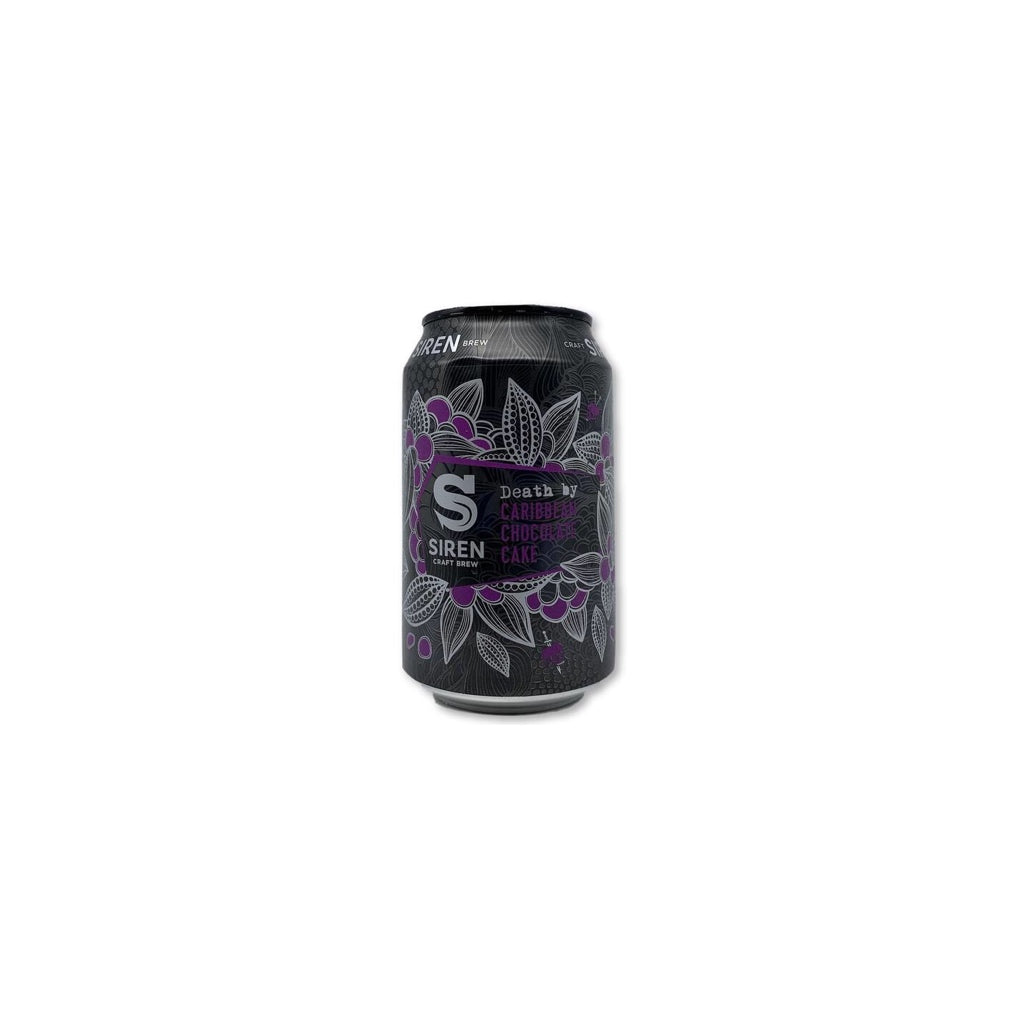 Siren x Cigar City Brewing - Death By Caribbean Chocolate Cake - 330ml - 9.1%