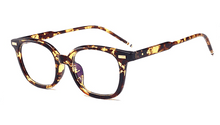 "Load image into Gallery viewer, EyePreserve Blue Light Glasses ""The Trendy"" Glasses EyePreserve Leopard"