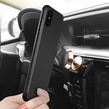 Magnetic Case for iPhone X Case iPhone 10 Soft Silicone Magnet Case for iPhone X Cover for Car Phone Holder Funda Accessories