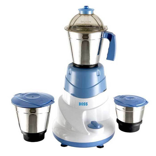 Boss All time 500 Watts Mixer Grinder with 3 Jars (Boss B-222)